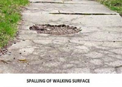 Spalling